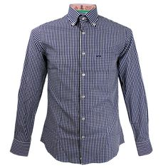 Paul & Shark Yachting Check Blue Tailored Shirt