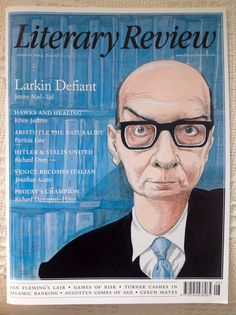 Philip Larkin, Literary Review cover Kevin Jackson, Philip Larkin, English Poets, Coming Of Age, Poetry, Author, The Unit, Books, Fictional Characters