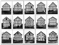 Série Bern et Hilla Becher photographie