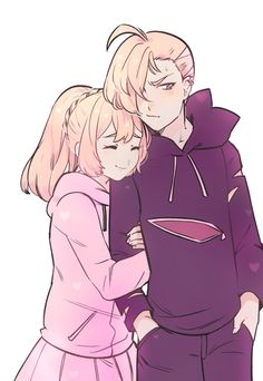 part ???? out of 1,000 pictures of gladion getting hugged!!! lillie loves her cute big bro