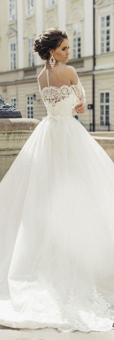 Milla Nova 2016 Bridal Wedding Dresses / http://www.deerpearlflowers.com/milla-nova-wedding-dresses/3/