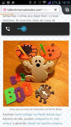 Hallloween hama perler beads by Perler Beads, Perler Bead Art, Fuse Beads, Hama Beads Halloween, Diy Halloween, Adornos Halloween, Pearler Bead Patterns, Perler Patterns, Hama Beads Design