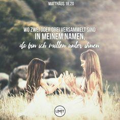 #gemeinschaft#versammeln#bibel#vers#matthäus