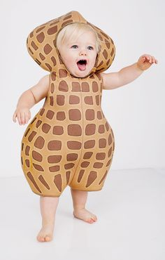 Peanut Costume Baby (12-18 Months) (Kids Costume) he IS mr peanuts after all!