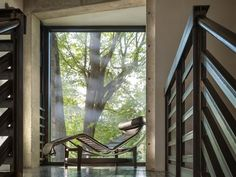 """Tom Kundig """"Studio House"""" modern architecture steel and concrete Seattle"""