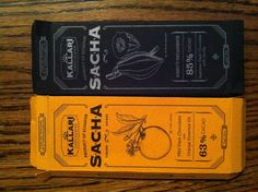 """""""Made in Ecuador by the Kichwa people"""" Chocolate packaging"""