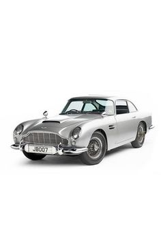Aston Martin DB5 - not only James Bond likes this car. A true pioneer of elegant cars.