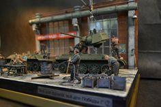 Tank factory - Ural 1/35 Scale Model Diorama