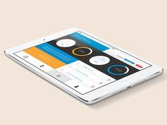 Mobile Banking App Convept by Michal Kozikowski