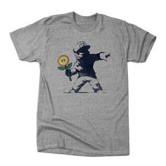 Banksy Flower T Shirt by BustedTees | Fab.com