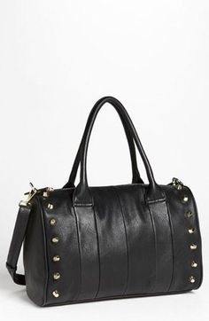 Studded faux leather bag (under thirty dollars)