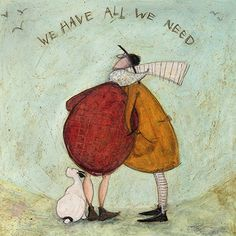 A beautiful selection of fun fine art greeting cards by Brighton based artist Sam Toft, published by Art Press, availaable at The Blank Card Company. Illustrations, Illustration Art, Whimsical Art, Rock Art, Oeuvre D'art, Cute Art, Painting & Drawing, Framed Art, Art Drawings