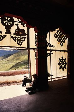 Ganden Monastery . Tibet. Tibet offers fabulous monasteries, breathtaking high-altitude treks, stunning views of the world's highest mountains and one of the most likeable peoples you will ever meet...  Read more: http://www.lonelyplanet.com/china/tibet#ixzz3WorXuI4V
