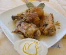 Recipe POLLO AL AJILLO - Recipe of category Carnes y aves