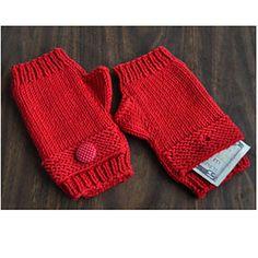 Ravelry: Magic Pocket Fingerless Gloves in Merino-5 pattern by Gail Tanquary