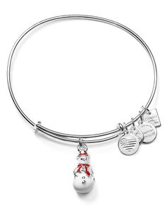 Alex and Ani will donate 20% of the purchase price from each Snowman charm bracelet sold, with a minimum donation of $10,000 between October 2016 and February 2017, to the Marine Toys for Tots Foundat