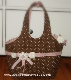Sweet Bag PDF Sewing Handbag Pattern  Purse by lauracountrystyle, €7.50
