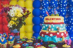 #decoracao #producao #festa #1ano #galinha pintadinha #galinha #pintadinha #bolo