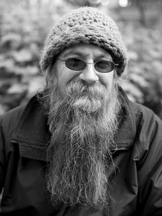 "Please meet Don, he's a fisherman in Alaska part of the year, stays in shelters in Seattle the rest of the time, doesn't make enough to keep a place here, is thankful for the Mission serving men over 50.  Don says he cant find a job here because for the last 20 years his resume just says ""fisherman.""   He loves ZZ Top and loveLOVES to read, he's a good man.  Pioneer Square 5/9/2013"
