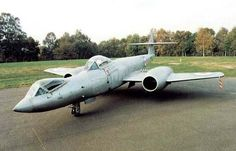 """Gloster Meteor F8 Prone Pilot The sole """"prone pilot"""" experimental testbed. On 10 February 1954, a specially adapted Meteor F.8, the """"Meteor Prone Pilot"""", which placed the pilot into a prone position to counteract inertial forces, took its first flight"""