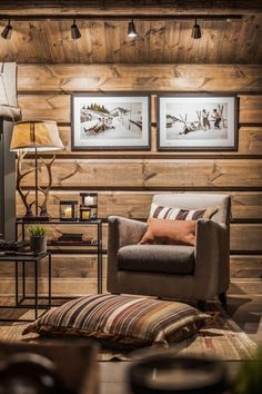 Ideas for Decorating a Family Room with Rustic Cabin Style Cute Home Decor, Easy Home Decor, Cheap Home Decor, Living Room Remodel, Living Room Decor, Home Design, Home Interior Design, Chalet Ski, Old Home Remodel