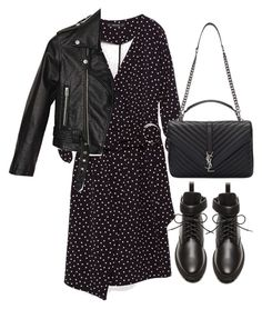 """Untitled #3177"" by theeuropeancloset on Polyvore featuring Nasty Gal, Balenciaga and Yves Saint Laurent"