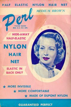 advertising  vintage  retro  hair color  ad