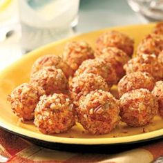 These bite-size pimiento cheese balls from Jamie and Bobby Deen are a huge hit with kids (of all ages). They're the perfect appetizer to bring to a summer picnic.