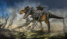 Concept dino rider