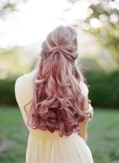 for your wedding day | long locks | hair and beauty | hair colour