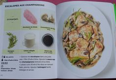 Escalopes aux champignons Batch Cooking, Light Recipes, Homemaking, Food And Drink, Pork, Turkey, Snacks, Chicken, Quiches