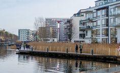 Стокгольм. Hammarby Sjöstad- экоквартал на месте заброшенной промзоны. - Под прицелом объектива...