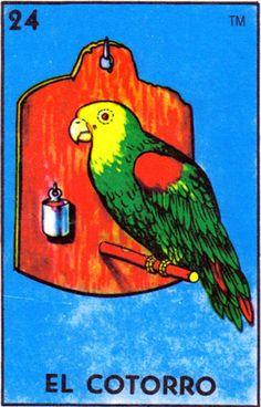 El Cotorro (The Parrot) Loteria Cards, Flipper, Bottle Cap Images, Mexican Folk Art, Mexican Artwork, Buy Art Online, Bird Art, Kitsch, Wallpaper