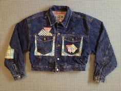 1990's USED by Elie denim jacket Men size Medium by brinkdwellers
