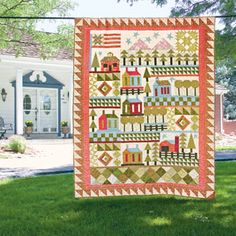 America The Beautiful: Patriotic Sampler Quilt Pattern