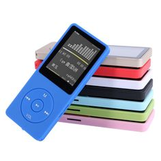 8GB Ultrathin MP3 Player With 1.8 Inch Screen Can Play 50H With FM E-Book Clock Data