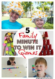5-family-minute-to-win-it-games
