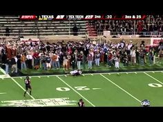 #1 Texas vs. #7 Texas Tech (2008) - YouTube