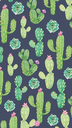 Click to check out all FREE wallpaper and printables!    #BloomPlanners #BloomPlanner #BloomDailyPlanners #Calendar #BloomGirl #Planner #Plan #Organization #Inspiration #PlannerAddict #PlannerLove #PlannerCommunity #BloomWhereYouArePlanted #PlanToBloom Plant Wallpaper, Flower Wallpaper, Pattern Wallpaper, Paper Cactus, Cactus Art, Homescreen Wallpaper, Cellphone Wallpaper, Cute Wallpaper Backgrounds, Cute Wallpapers