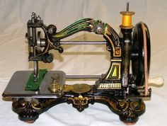 JAMES STARLEY, J K STARLEY, QUEEN OF HEARTS SEWING MACHINE