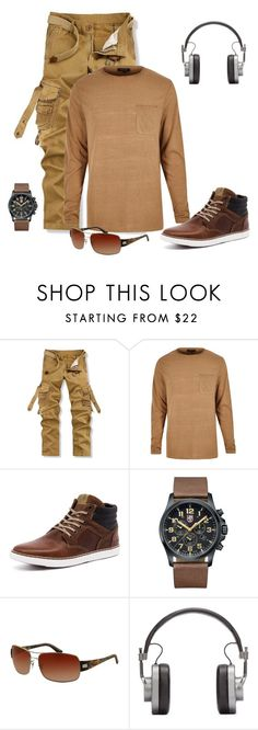 """""""Untitled #3018"""" by empathetic ❤ liked on Polyvore featuring Luminox, Ray-Ban, Master & Dynamic, men's fashion and menswear"""
