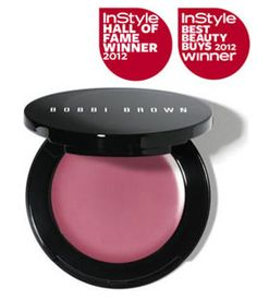 Bobbi Brown Pot Rouge for Lips & Cheeks. InStyle 2012 Hall of Fame winner for best cream/ gel blusher