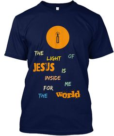 The Light of Jesus Classic tee brings you to light Just For You, Tees, Classic, Mens Tops, T Shirt, Derby, Supreme T Shirt, T Shirts, Tee