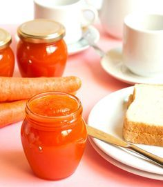 Mermelada de zanahoria - Recetízate Lunch Cafe, Hummus, Decadent Cakes, Jam And Jelly, Homemade Butter, Fruit Preserves, Kitchen Recipes, Sweet Recipes, Delicious Desserts