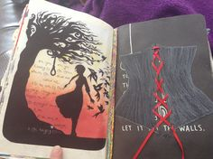 Wreck this Journal Tie A String To The Spine Of This Book. Swing Wildly. Let It Hit The Walls. The hanging tree, Hunger games