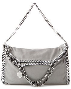 "Stella McCartney ""Falabella"" Shaggy Deer Fold Over Tote"