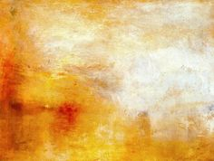 W. Turner - Crepúsculo sobre el lago (1840)