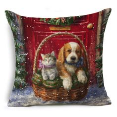 Cat And Dog Gift Baskets