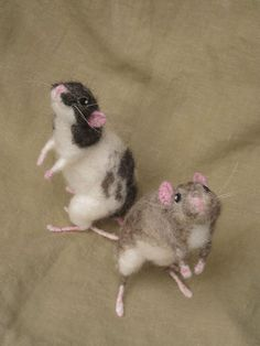 felted mice on etsy
