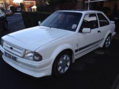 FORD ESCORT RS TURBO WHITE Series 1 S1 Mk3 - http://www.fordrscarsforsale.com/4463